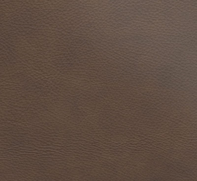 full grain leather -  chocolate