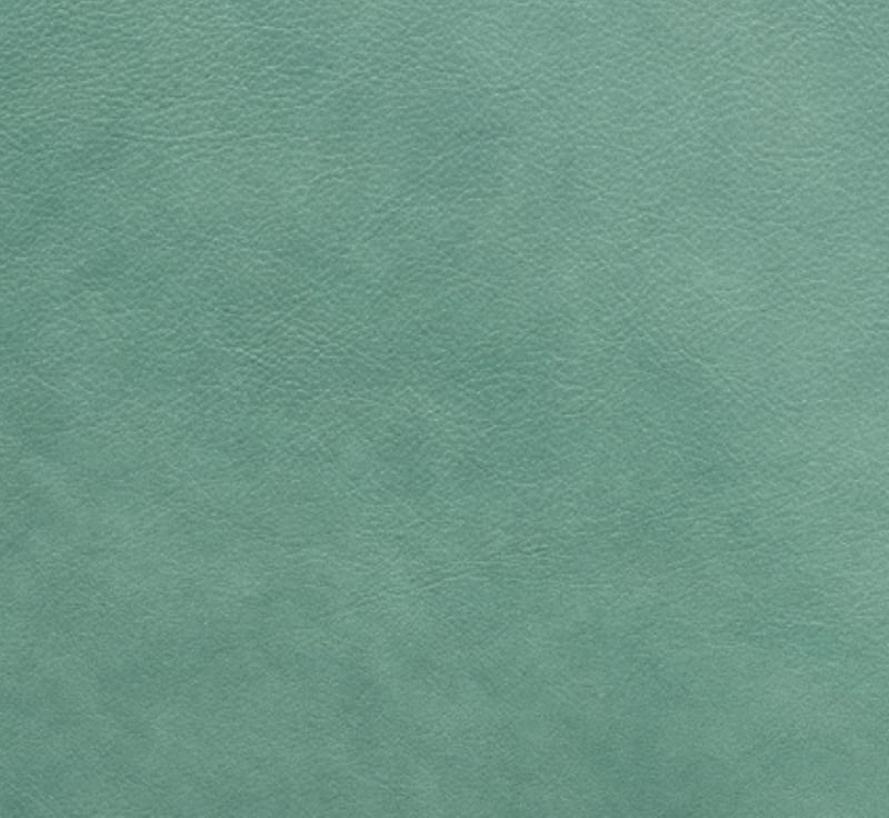 full grain leather - sea foam